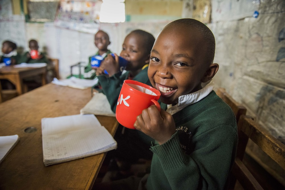Mary's Meals aims to provide one good meal every school day to some of the world's poorest children – Picture copyright Chris Watt
