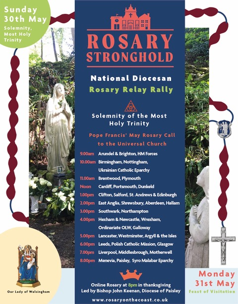 National Rosary Relay Takes Place This Sunday