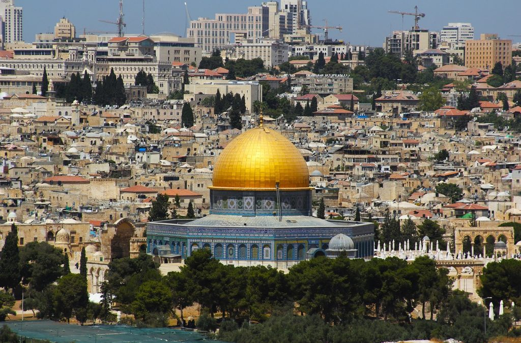 'Pray That Holy Land Peace Will Hold'
