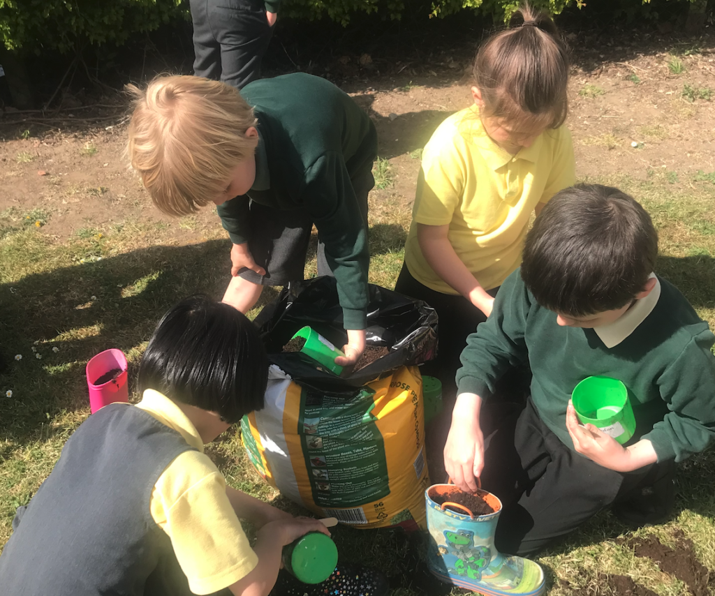 Children from St Margaret Clitherow Catholic Academy Trust