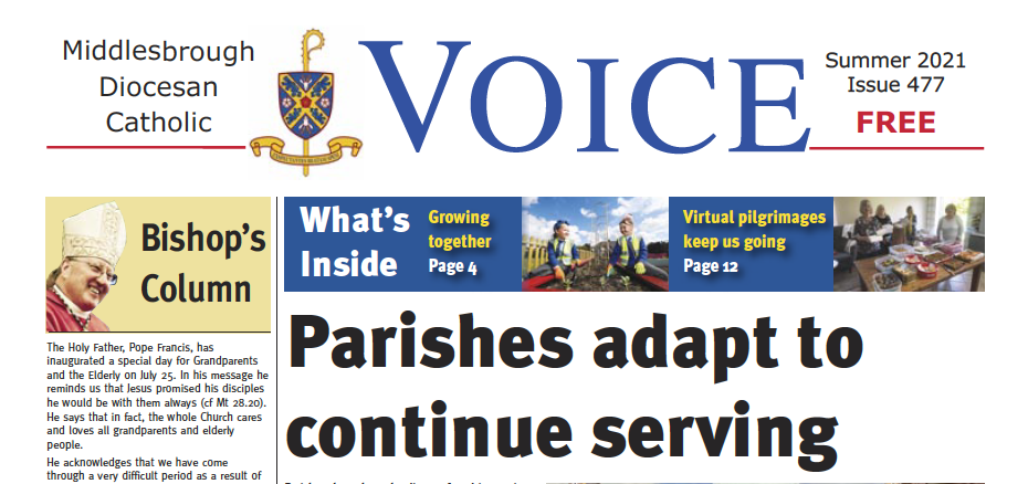 Summer Catholic Voice Available Now