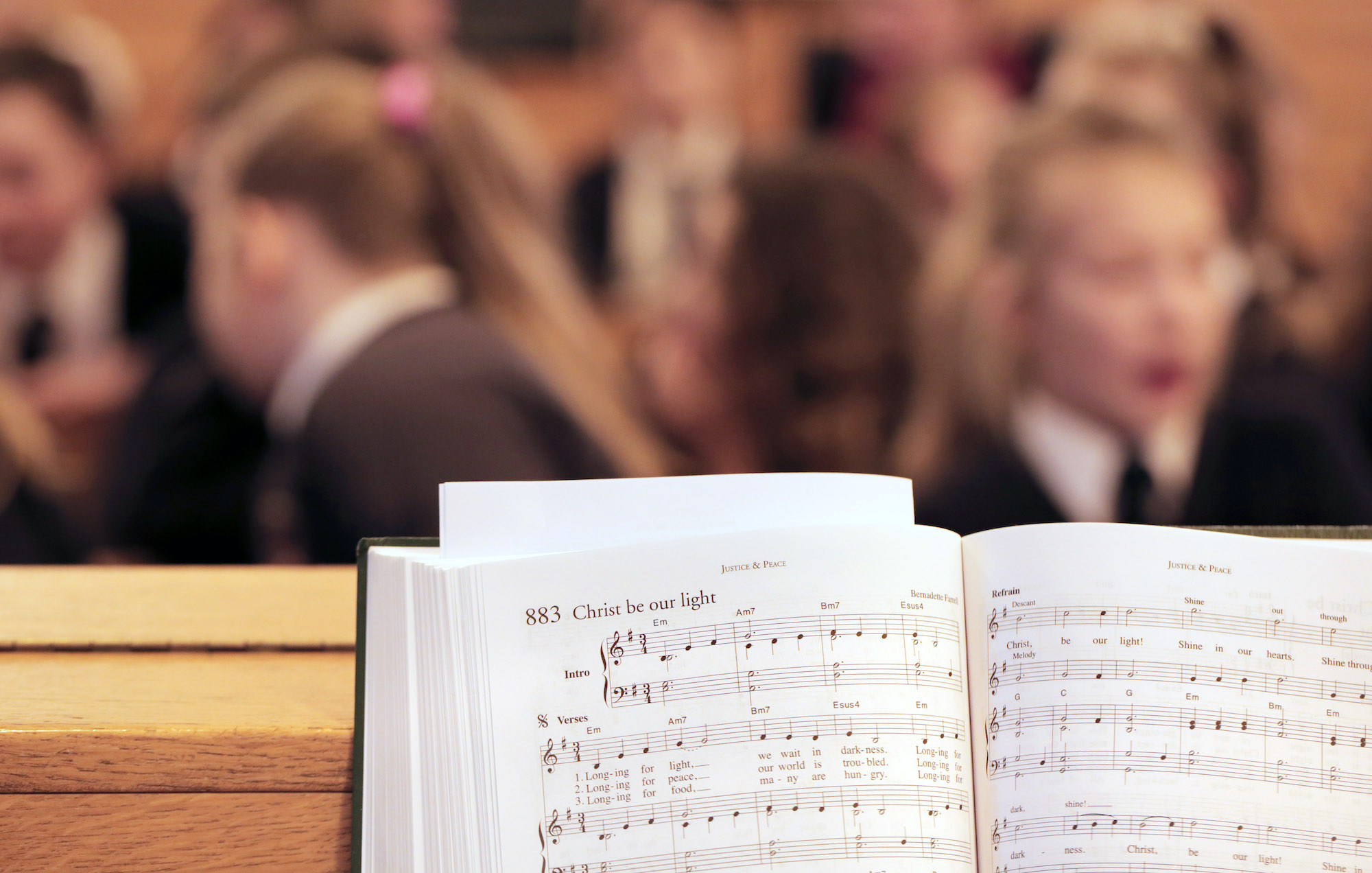 Nicholas Postgate Catholic Academy Trust Advent Carol Service at St Mary's Cathedral in Coulby Newham – Photo by Chris Booth