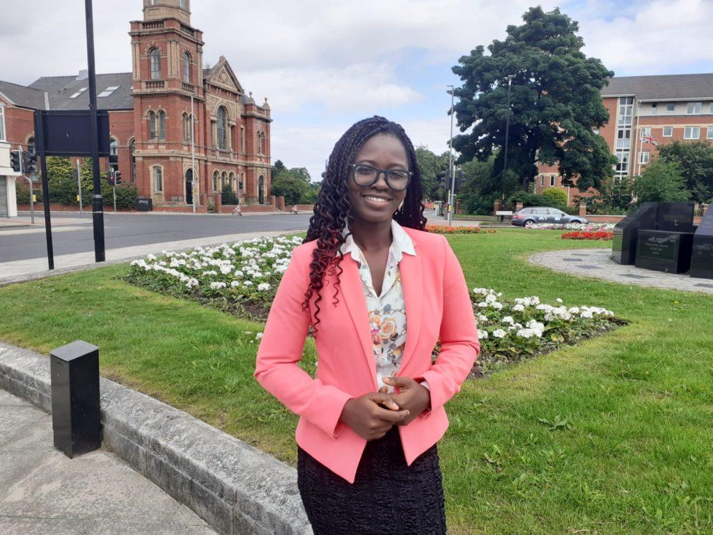 CAFOD volunteer Grace Attu