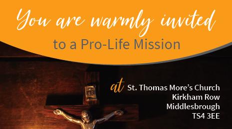 Pro-life mission