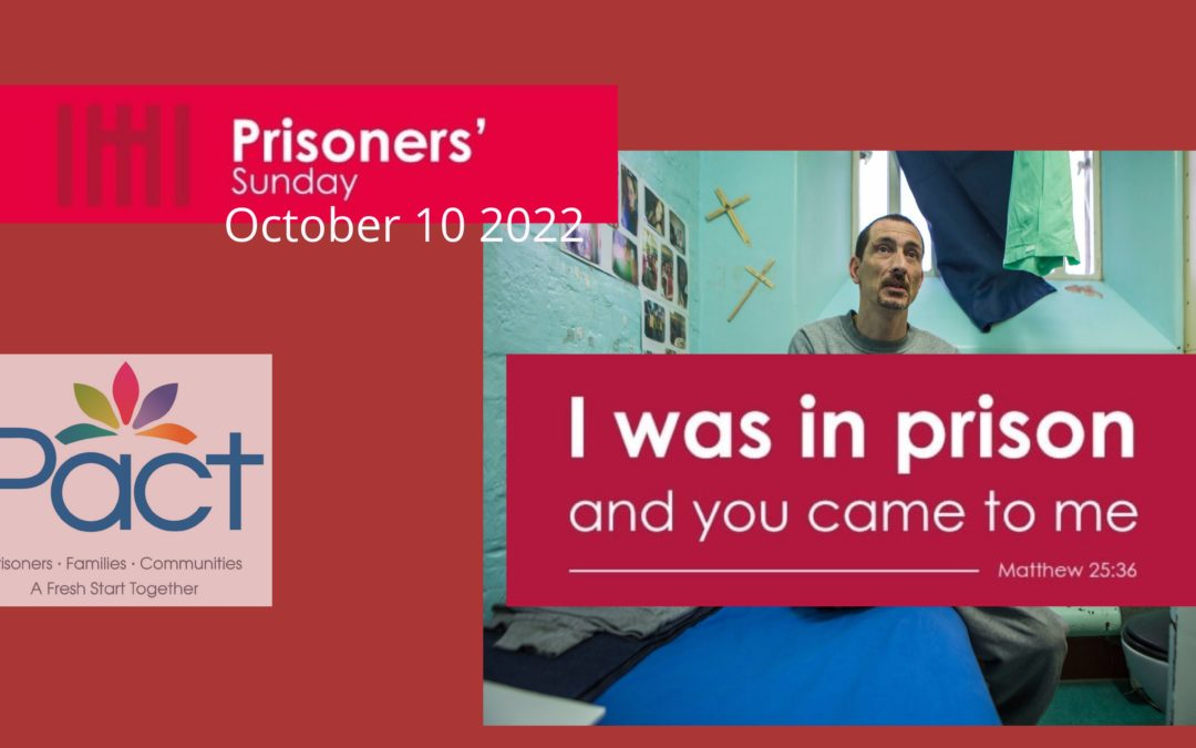 Reaching Out On Prisoners' Sunday